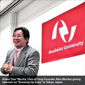 Accredited Online MBA (International MBA) at Anaheim University