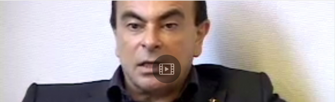 Hear about it from the pros:<BR>Nissan/Renault CEO Carlos Ghosn